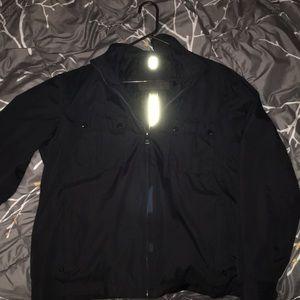 Mens stylish black jacket Marc New York